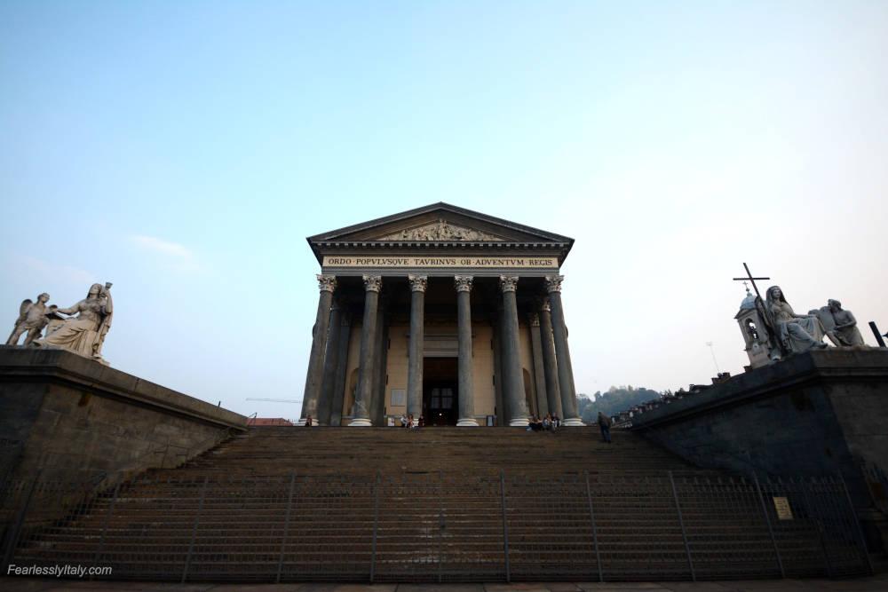 Изображение: Кьеза-делла-Гран-Мадре-ди-Дио в Турине