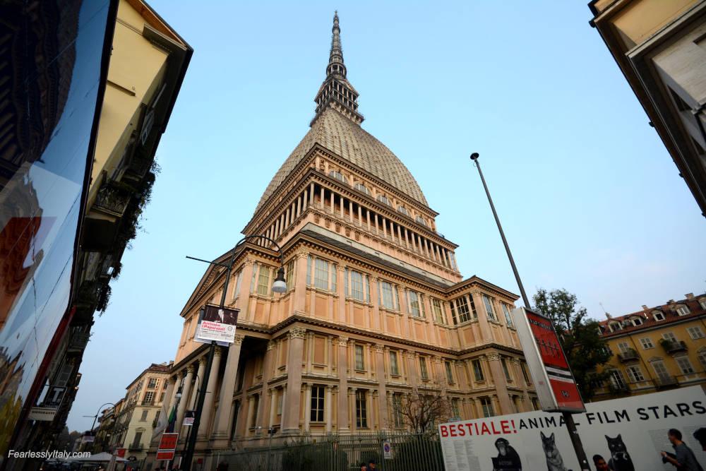 Изображение: Моле Антонеллиана в Турине